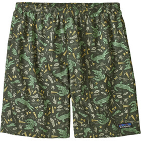 "Patagonia Baggies Longs 7"" Men alligators and bullfrogs/kale green"